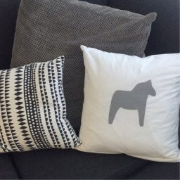 Dala cushion cover grey