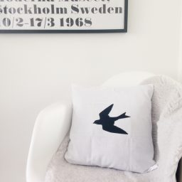 Cushion cover Swallow
